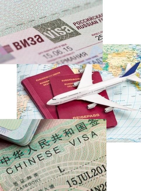 Visaservice Visum für Russland
