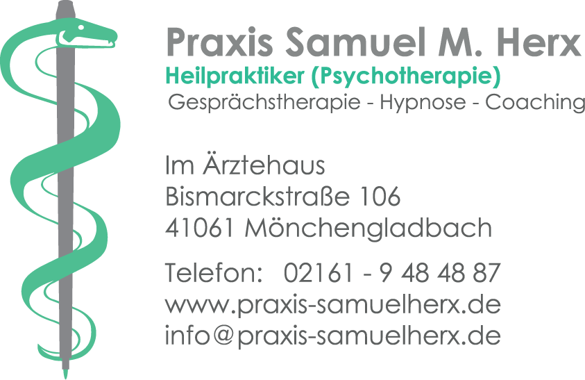 Bismarckstraße Mönchengladbach samuel m herx heilpraktiker psychotherapie mönchengladbach